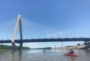 Kayaking the Missouri River