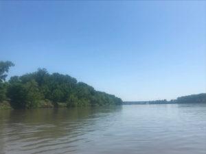 Kayaking the Missouri River